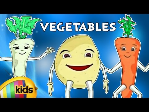 What are Root Vegetables | Fun & Learn | Magical Rhymes for Kids | English