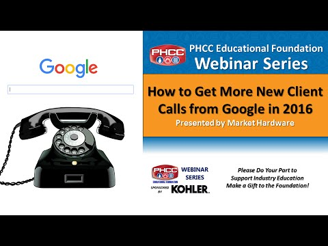 Get More New Client Calls from Google in 2016