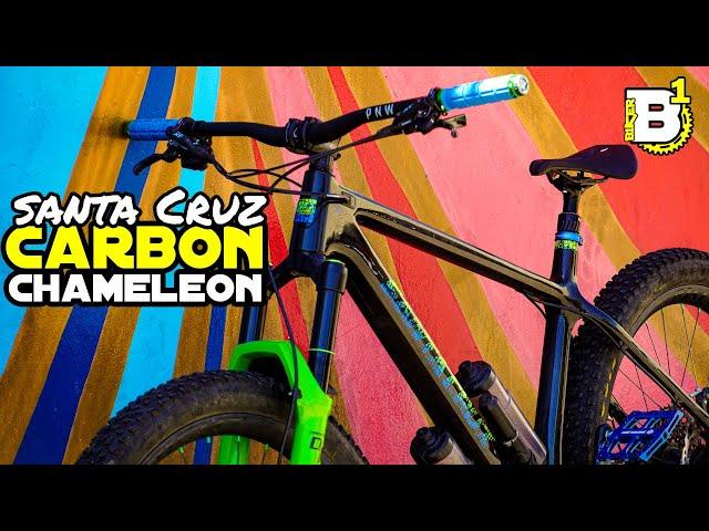 Santa Cruz Carbon Chameleon - New Bike Day - Build Review