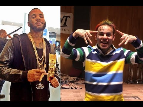 The Game Disses 6ix9ine on stage in Slovenia and calls him a 'Fake Blood'