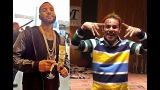connectYoutube - The Game Disses 6ix9ine on stage in Slovenia and calls him a 'Fake Blood'