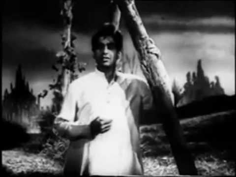 HEMANT KUMAR  Kaise Koi Jiye  Aaya Toofan  Baadbaan 1954  Dilip Kumar