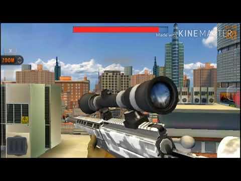 Jugando Sniper 3D¿como Se Juega?(julio HD)