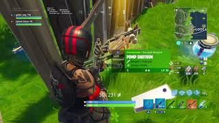 Fortnite Battle Royale 14 Kill Duo Win with new Season 5 Redline Skin!