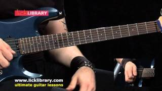Avenged Sevenfold Almost Easy Guitar Lesson | How To Play On Guitar With Andy James Licklibrary