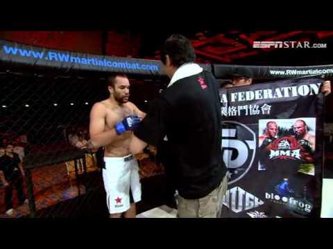 Martial Combat 8 Fight 2 Nathan Fredericks Vs Kumar Subramaniam