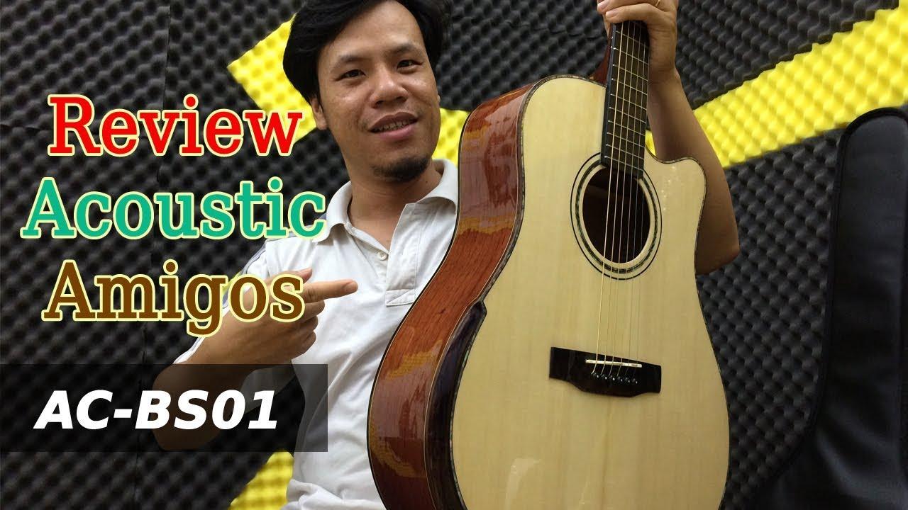 Đàn guitar thùng AC-BS01 giá rẻ mà chất lượng – đàn guitar acoustic giá rẻ tphcm | Guitar4Freedom