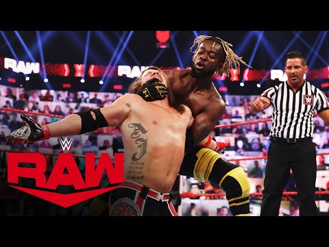 The New Day vs. AJ Styles & Omos – Raw Tag Team Championship Match: Raw, May 3, 2021