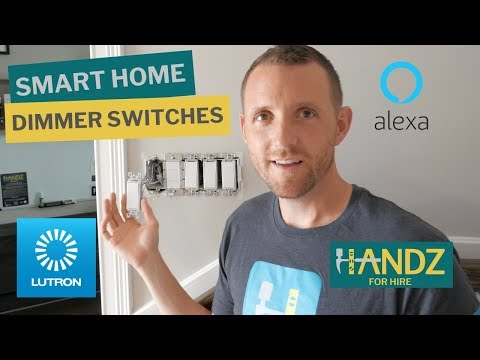 lutron-caseta-dimmer-switch-installations-with-pico-remote,-lutron-app-and-alexa-setup-(part-1/2)