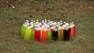 Uzi vs  50  Two-Liter sodas