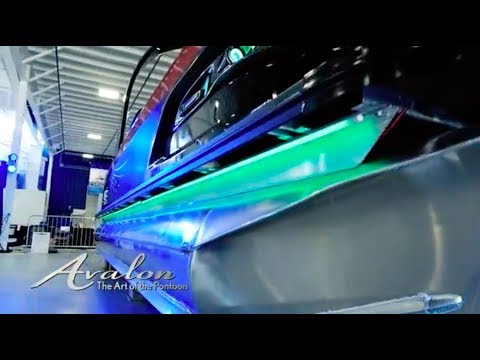 2018 Pontoon Boats INTEGRATED RGB LIGHTING | Avalon Luxury Pontooning