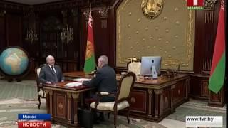 Глава государства провел рабочую встречу с министром внутренних дел