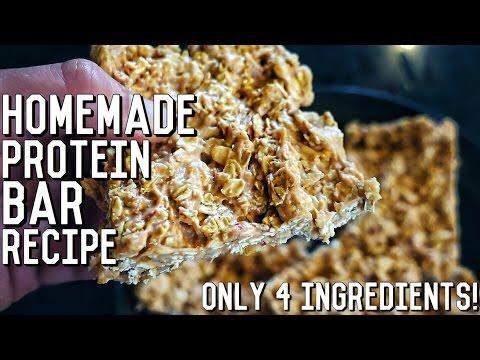 Homemade Protein Bars   Easy Bodybuilding Recipe