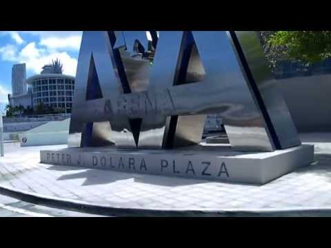 American Airlines Arena - Miami Heat - Outside Tour