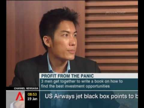 Profit from Panic Interview channel news asia