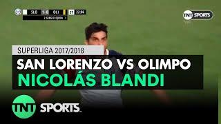 Nicolás Blandi (2-0) San Lorenzo vs Olimpo | Fecha 20 - Superliga Argentina 2017/2018