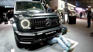 Mercedes В Женеве: От Геленда До Gt 63 Amg