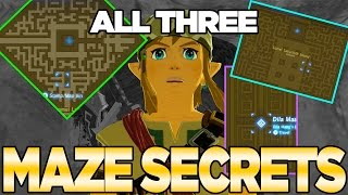 3 Labyrinth Secrets in Breath of the Wild! Get the Barbarian Armor | Austin John Plays
