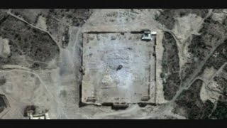 Satellite images: Palmyra's Temple of Bel destroyed by Islamic State
