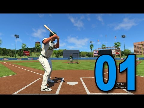 MLB 16 Road to The Show - Part 1 - HERE WE GO! (Playstation 4 Gameplay)