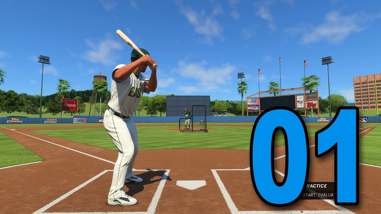 mlb 16 road to the show part 1 here we go playstation 4