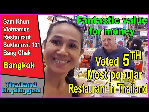 Fantastic value for money, voted the 5th most popular restaurant in Thailand  Ultra 4K