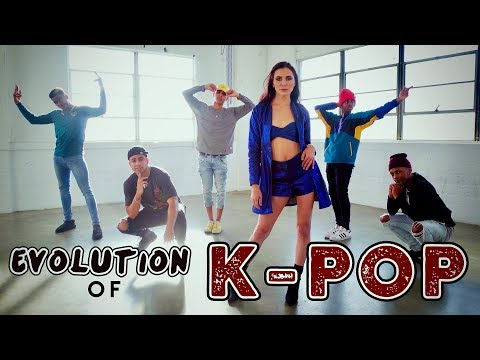 Evolution of KPOP!! ft. Alyson Stoner & Next Town Down