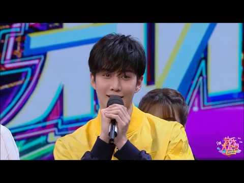 Mike Angelo @ Happy Camp TV Show in China on Apr 21, 2018