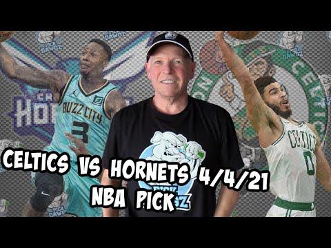 Boston Celtics vs Charlotte Hornets 4/4/21 Free NBA Pick and Prediction NBA Betting Tips