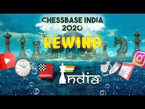 The year 2020 for ChessBase India in Rewind!