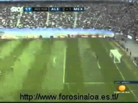 México vs Alemania 2005