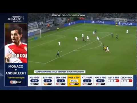 Amazing Goal Johnson F.~Borussia Monchengladbach 2-0 FC Sevilla~