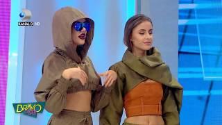 Bravo, ai stil! (06.10.2017) - Emiliana i-a lasat muti pe jurati! Ce poate face cu abdomenul ei! Video