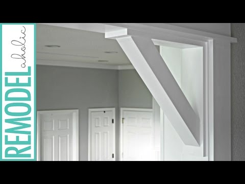 How to Build Simple DIY Doorway Corbels