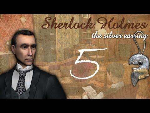 Шерлок холмс загадка серебряной серёжки