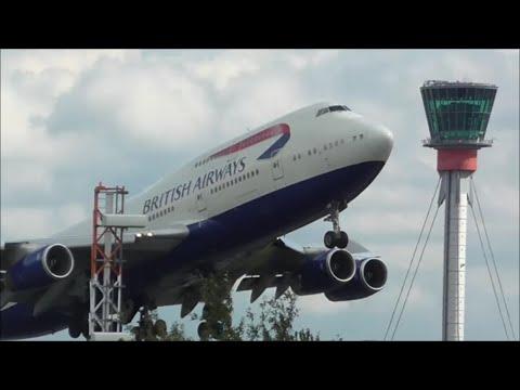 Afternoon Heavy Departures | London Heathrow Airport, LHR 15/09/15