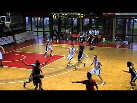DNC 2012-2013 play-out gara 1 La Spezia - Cestistica Biella, ultimi 3 '