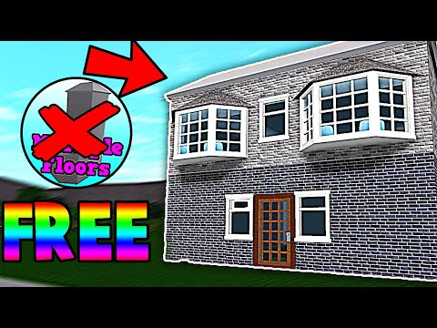 how-to-make-a-second-floor-without-gamepass!-(bloxburg-2019)