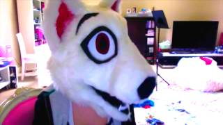 Bull Terrier Fursuit Head (for Sale)