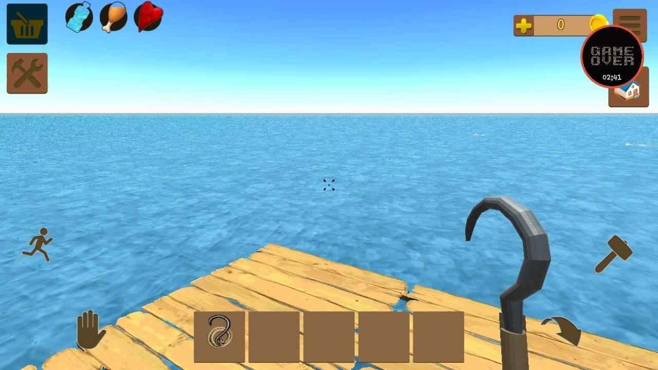 Vamos jogar, oceanborn:survival on Raft