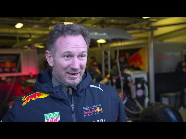 F1 2019 - Red Bull Hondda RB15 launch on track at Silverstone