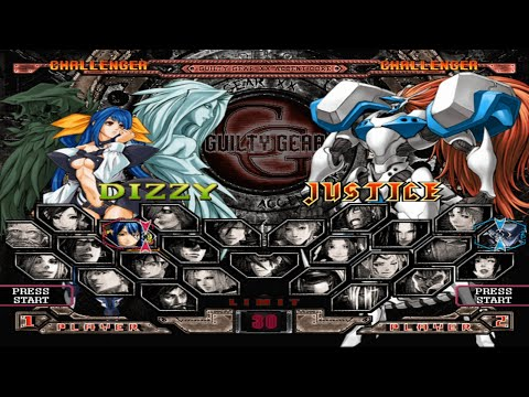 Guilty Gear XX Accent Core Plus Opening and All Characters [PS2]