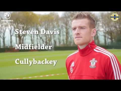 Player Focus | Steven Davis | Northern Ireland midfielder