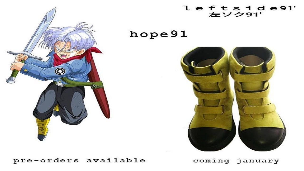 Shoe Inspired By Future Trunks (Super