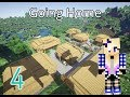 Going Home! |Ep4 Wolf's Tail| Minecraft Roleplay|