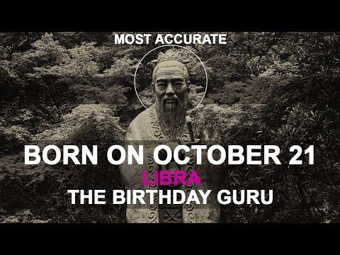 Born on October 21   Birthday   #aboutyourbirthday   Sample