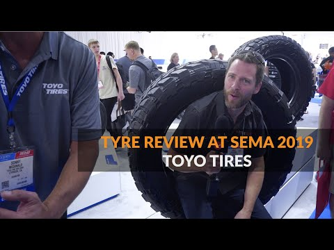 Tyre Review And Toyo Tires At SEMA 2019