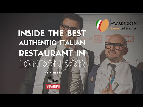 Inside The Best Authentic Italian Restaurant In London 2018