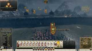Total War Rome 2 Caesar In Gaul Rome Campaign Part 1 (with brief overview)