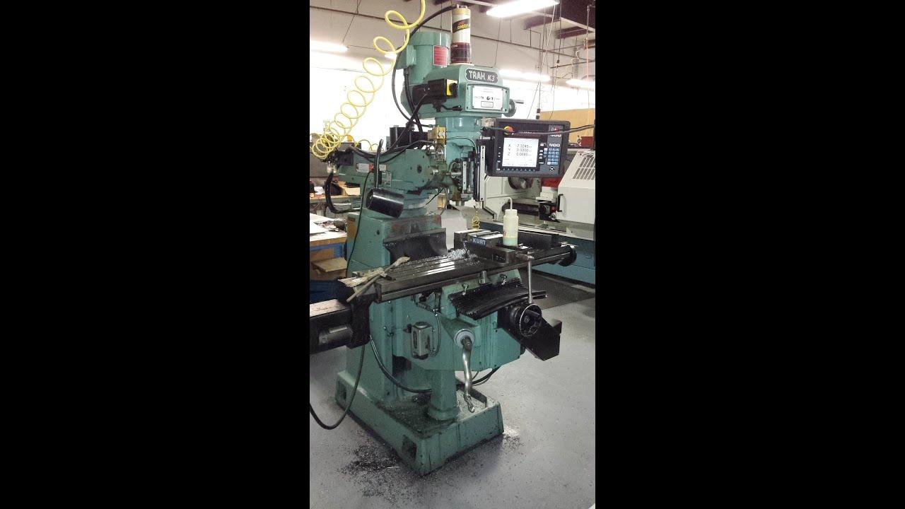 prototrak k3 knee mill with smx control